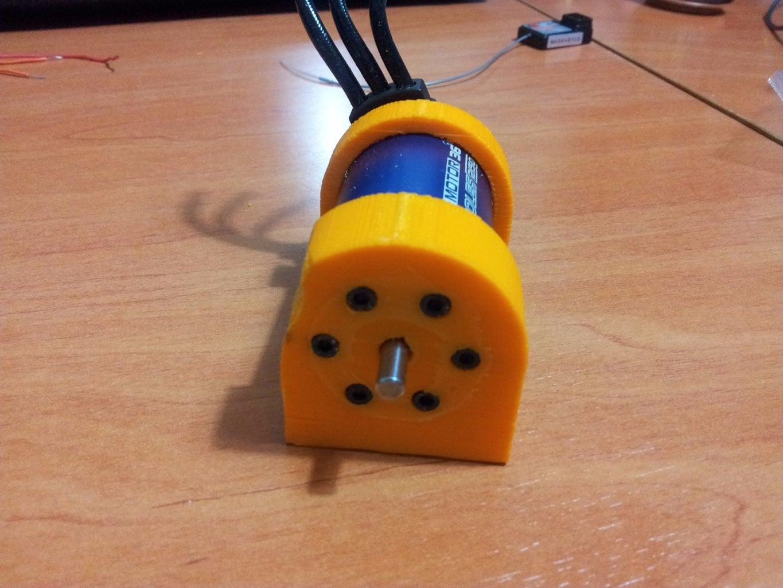 Motor, ESC and Battery
