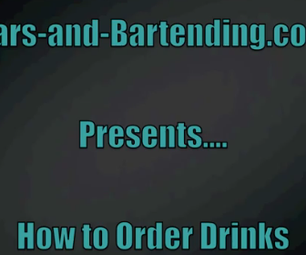 At the Club: How to Order Drinks at the Bar