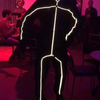 DIY LED Stick Figure Costume