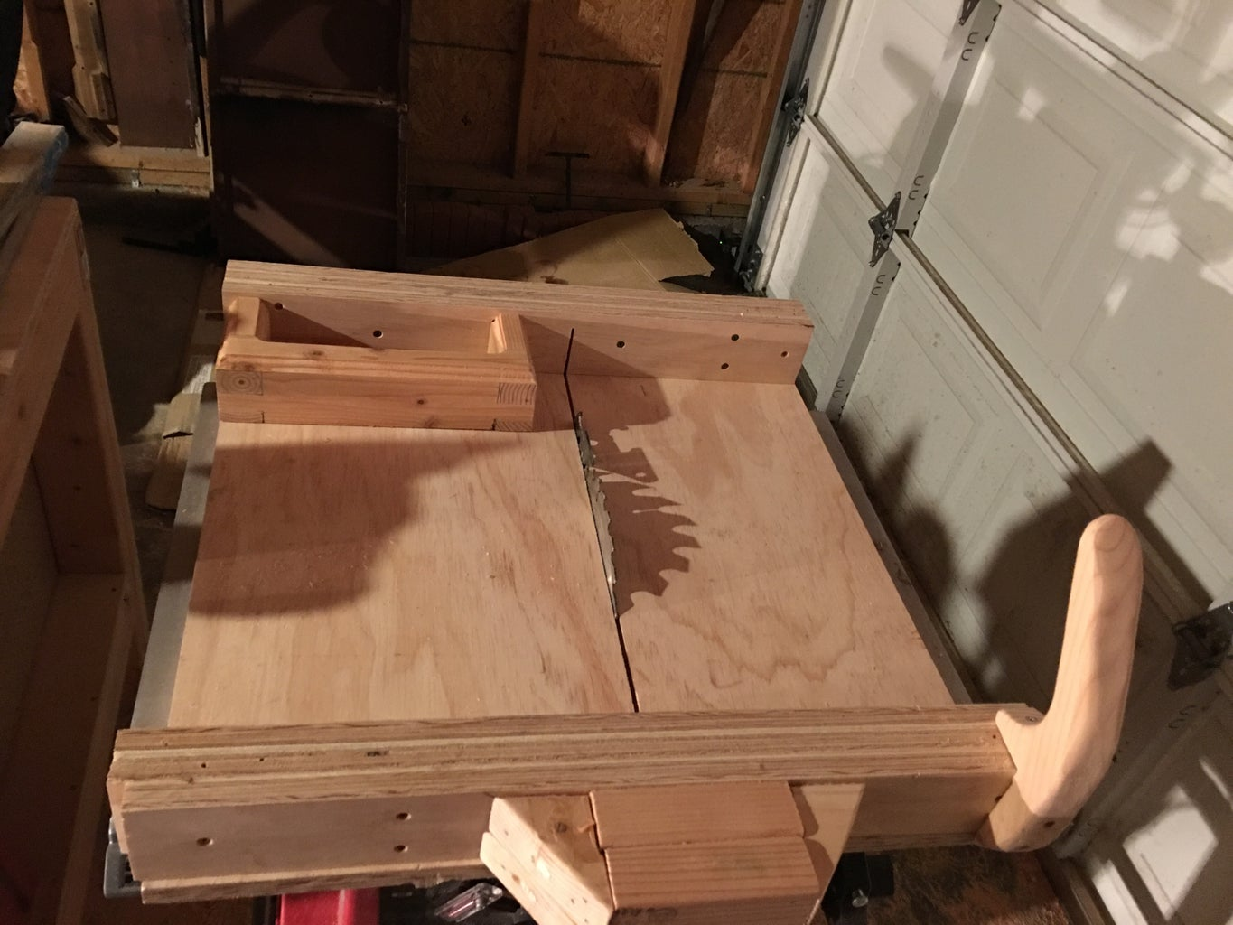 Cross Sled With Pencil Box!