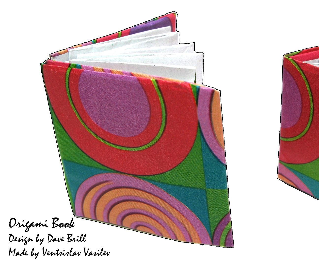 Origami Mini Book Tutorial (Dave Brill)