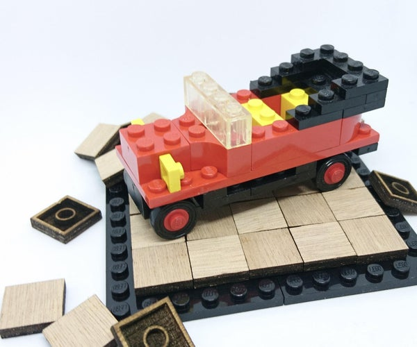 Wooden LEGO Tiles