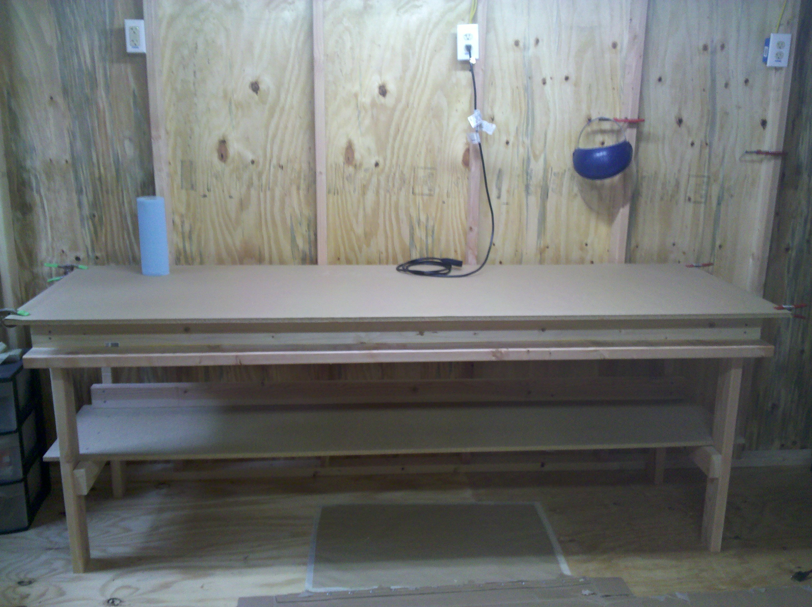 The Very Rigid $45 Eight Foot Workbench