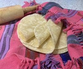 Soft Flour Tortillas Without Shortening : Tortillas Sin Manteca Y Rexal