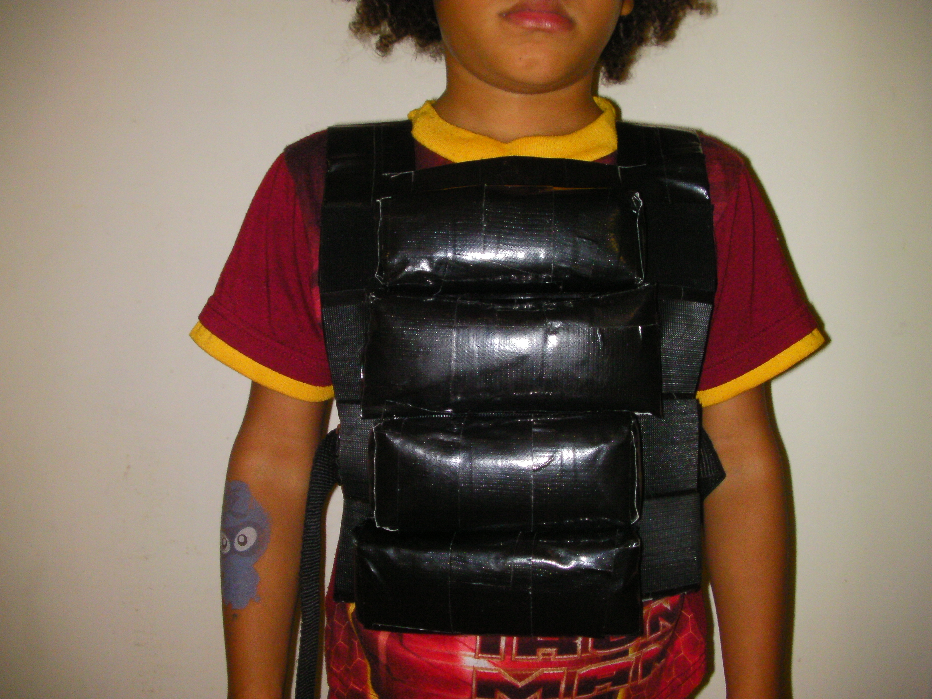 Duct Tape Adjustable Weight Vest