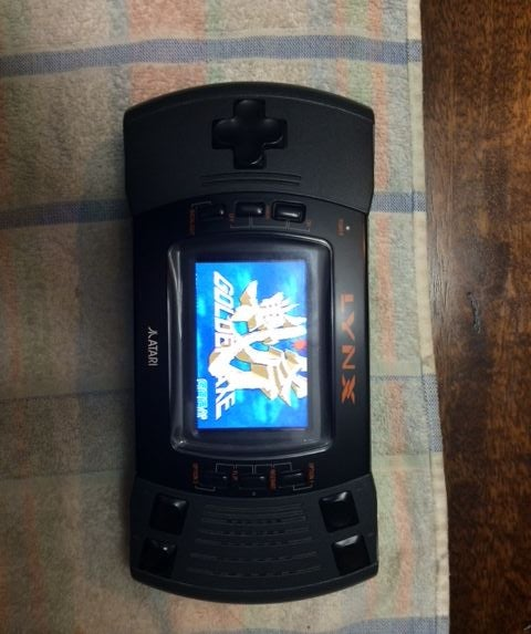 Raspberry Pi Arcade Game Emulator in an Atari Lynx