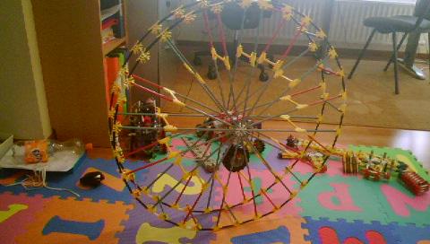 Reinventing the knex wheel