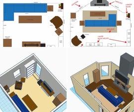 房间重新设计项目
