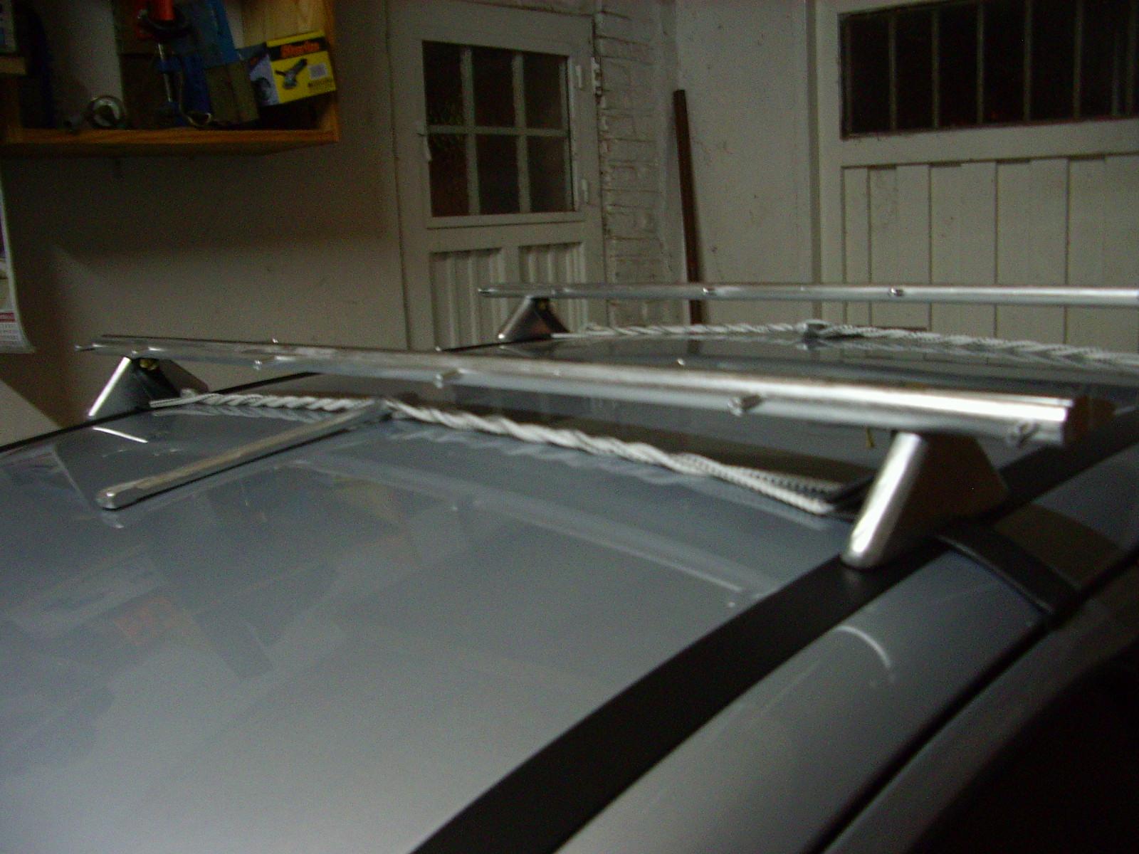 Portaequipajes para auto (Roof car rack)