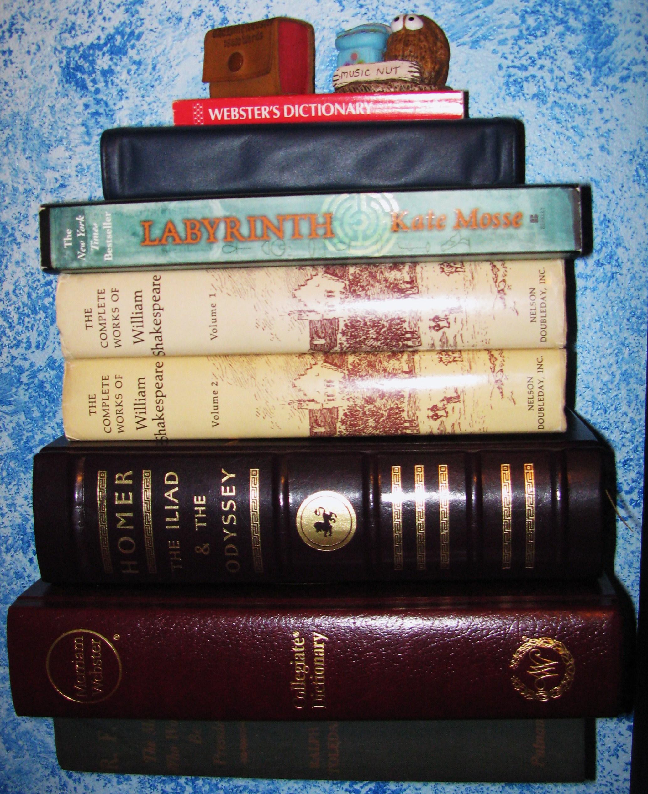 The Invisible Bookshelf