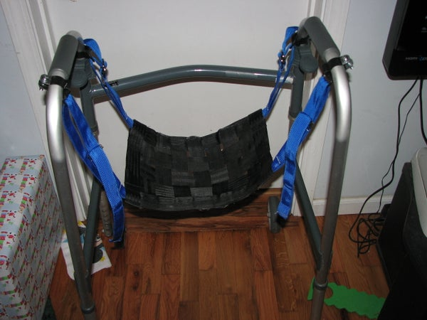 Seat for a Walker