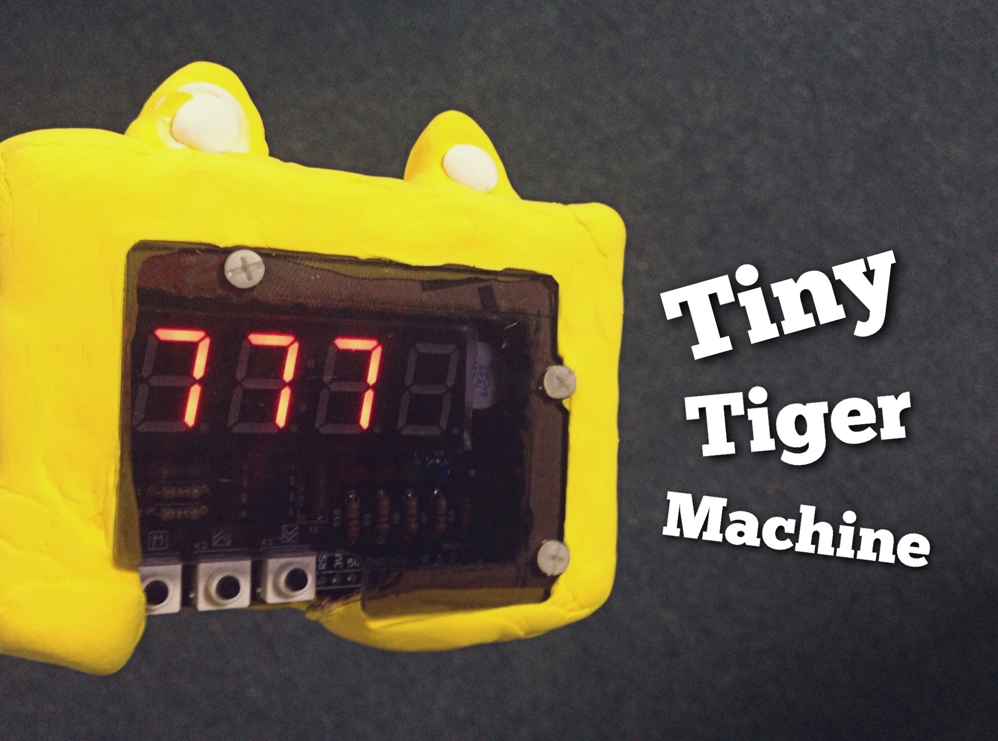 How to Make Your Tiny Tiger Machine