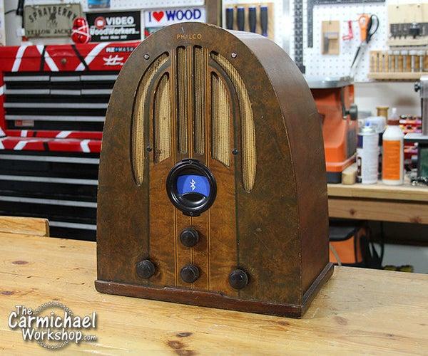 1937 Philco Bluetooth Speaker