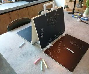 Opvouwbaar krijtbord / Foldable Blackboard / Chalkboard