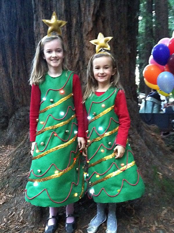 Light Up Christmas Tree Costume