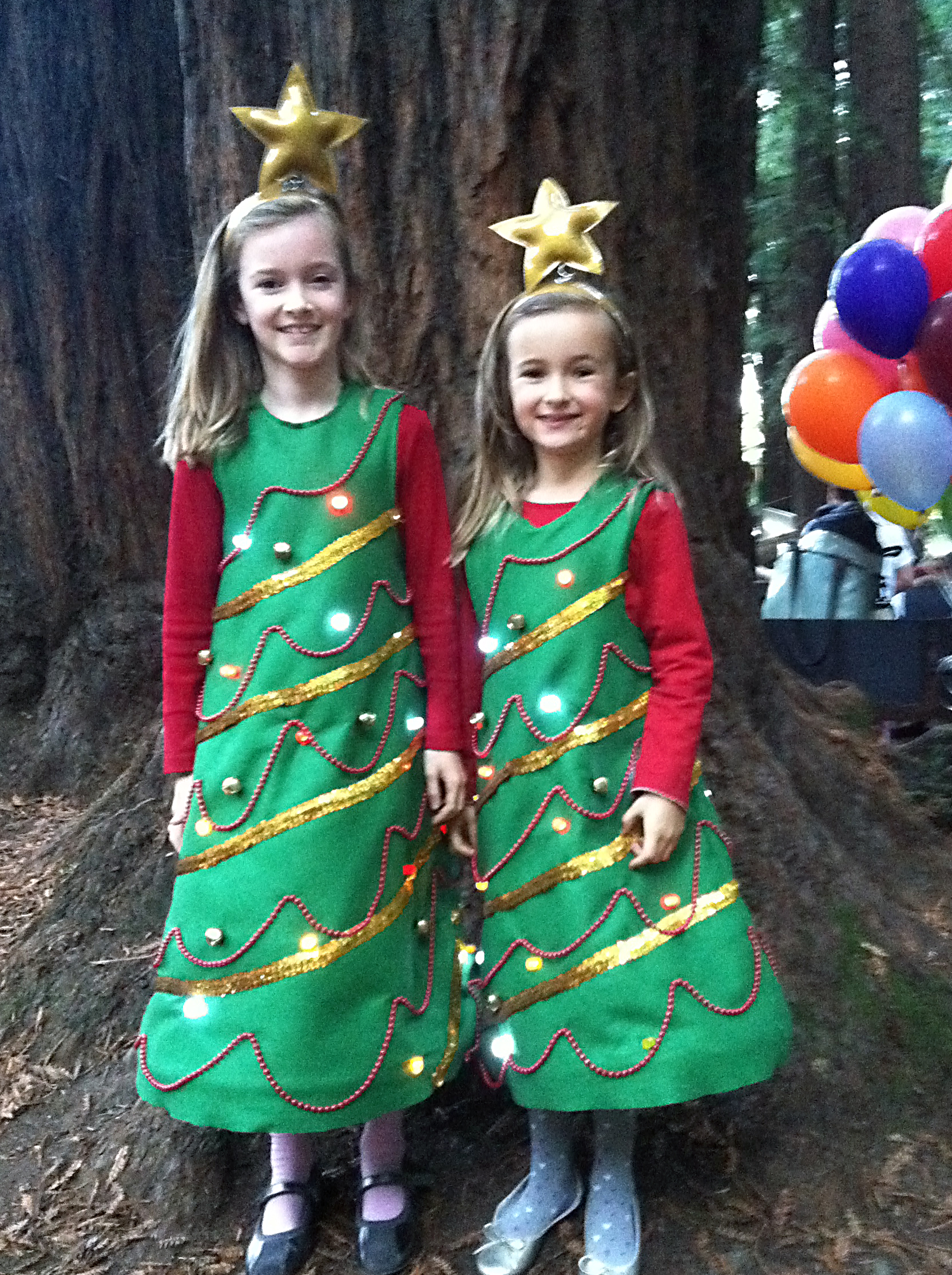 Light Up Christmas Tree Costume 4 Steps With Pictures Instructables