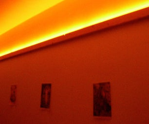 Double Function Rail: Hang Paintings and Indirect Lighting