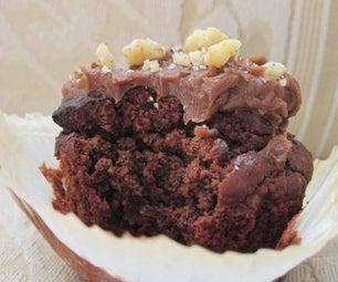 Awesome Chocolate Cupcakes (Gluten Free, Sugar Free)