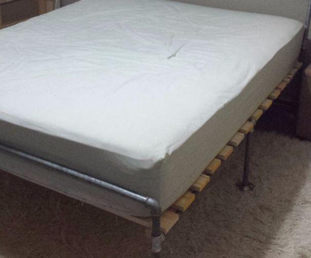 Galvanized Pipe Bed