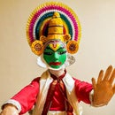 Kathakali Dance Model