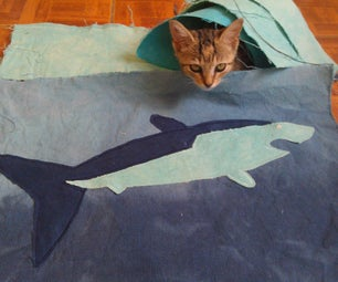 Fabric Shark Patch