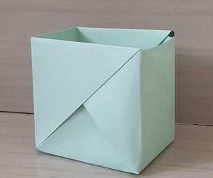 Origami Paper Strong Box