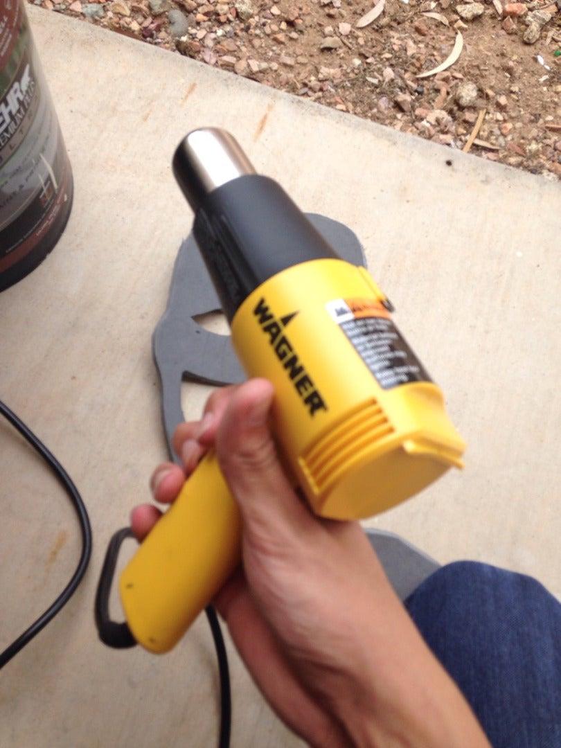 Step: 3 - Heat Gun