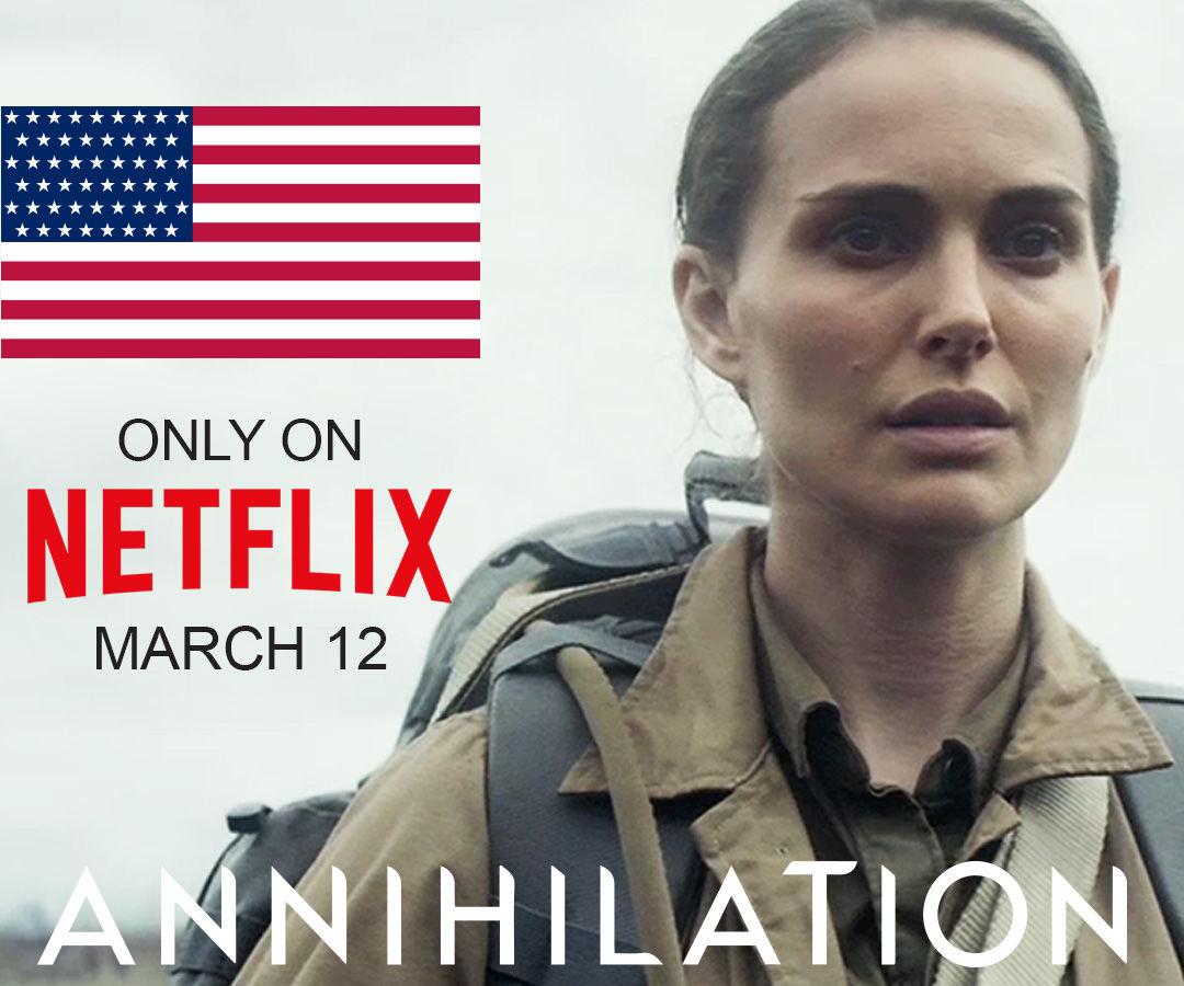 Watch Annihilation on Netflix UK From America