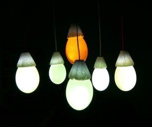 Eggshell LED Chandelier