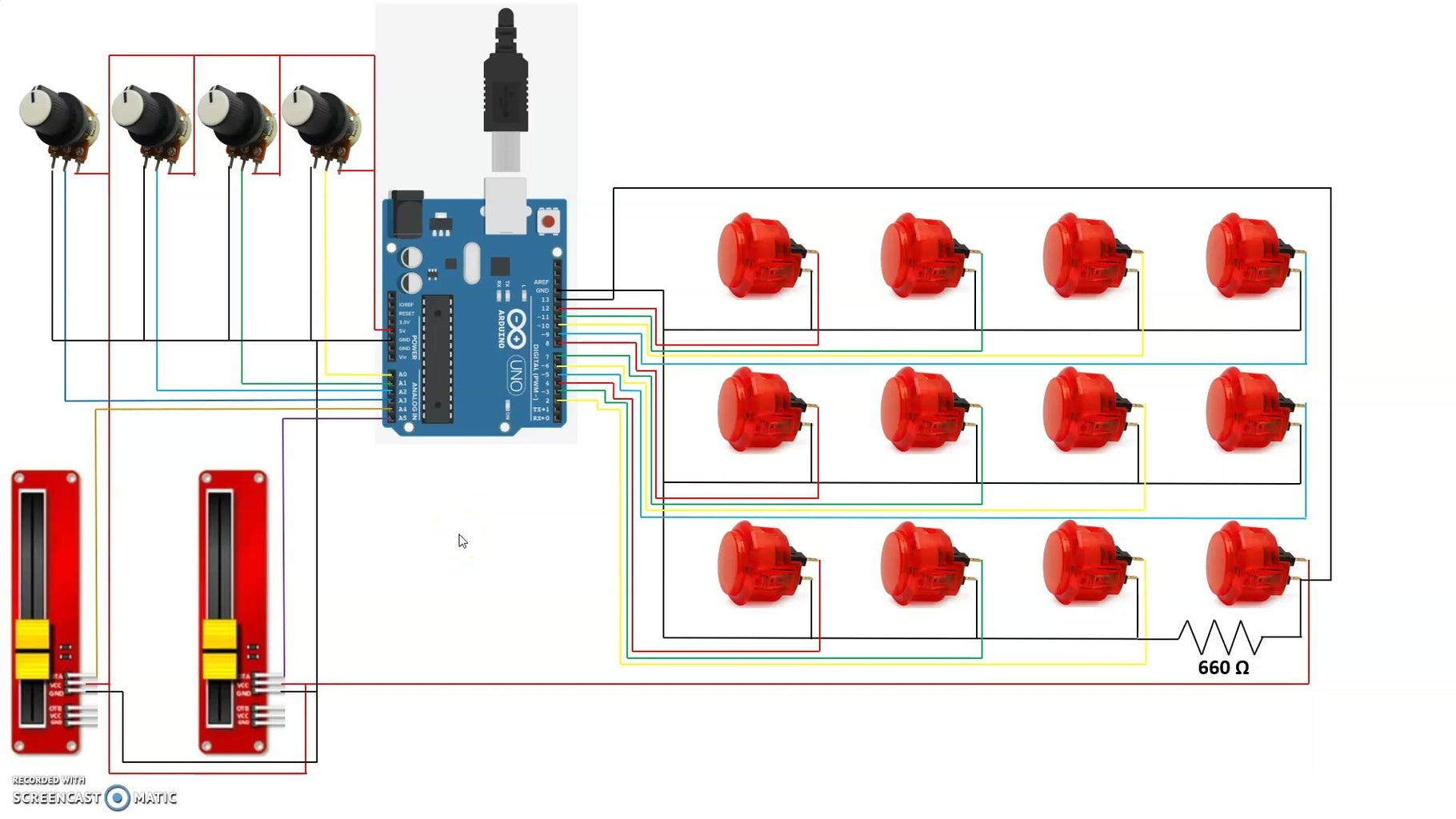 Circuit Diagram and Connections