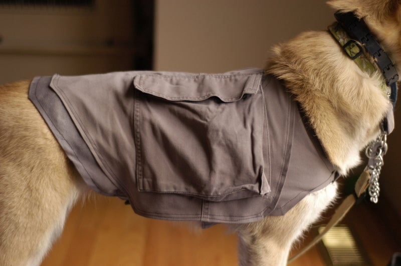 Doggy Cooling Vest / Backpack (from Cargo Pants)