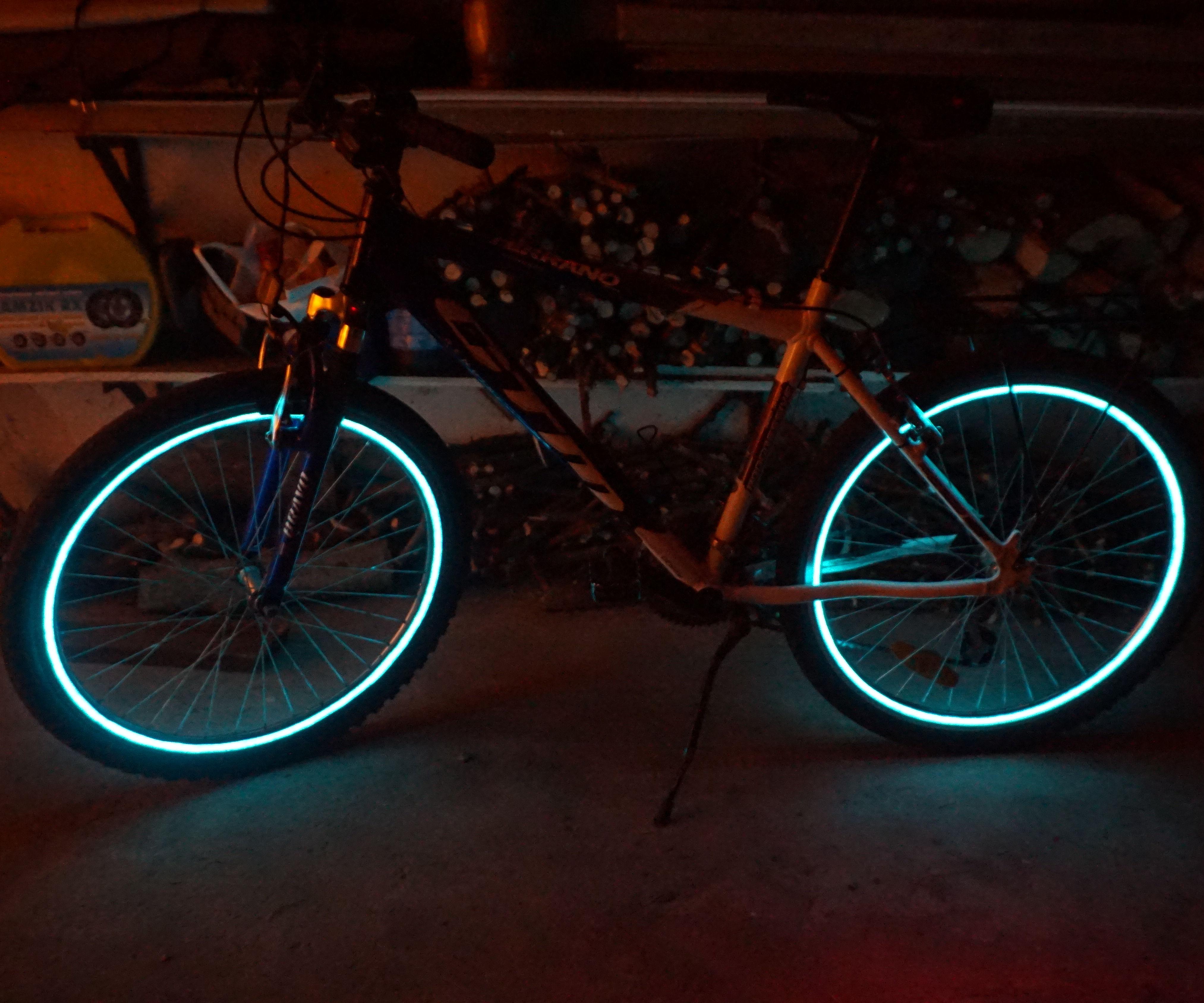 Bike Wheel Lights Hack