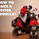 Make a Mecha Gorilla from Bionicles!