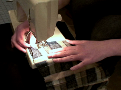 Sewing the Liners