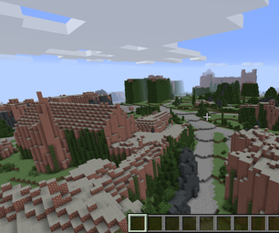 Real-world Minecraft Maps