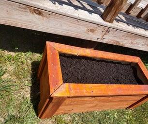 Raised Flower Box (Pallet Wood)