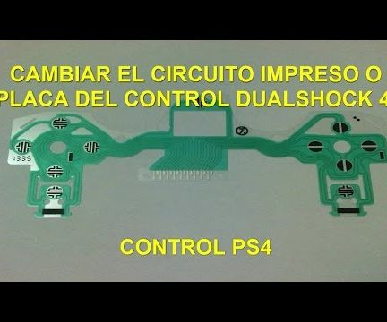 Change Printed Circuit Board PS4 Controller