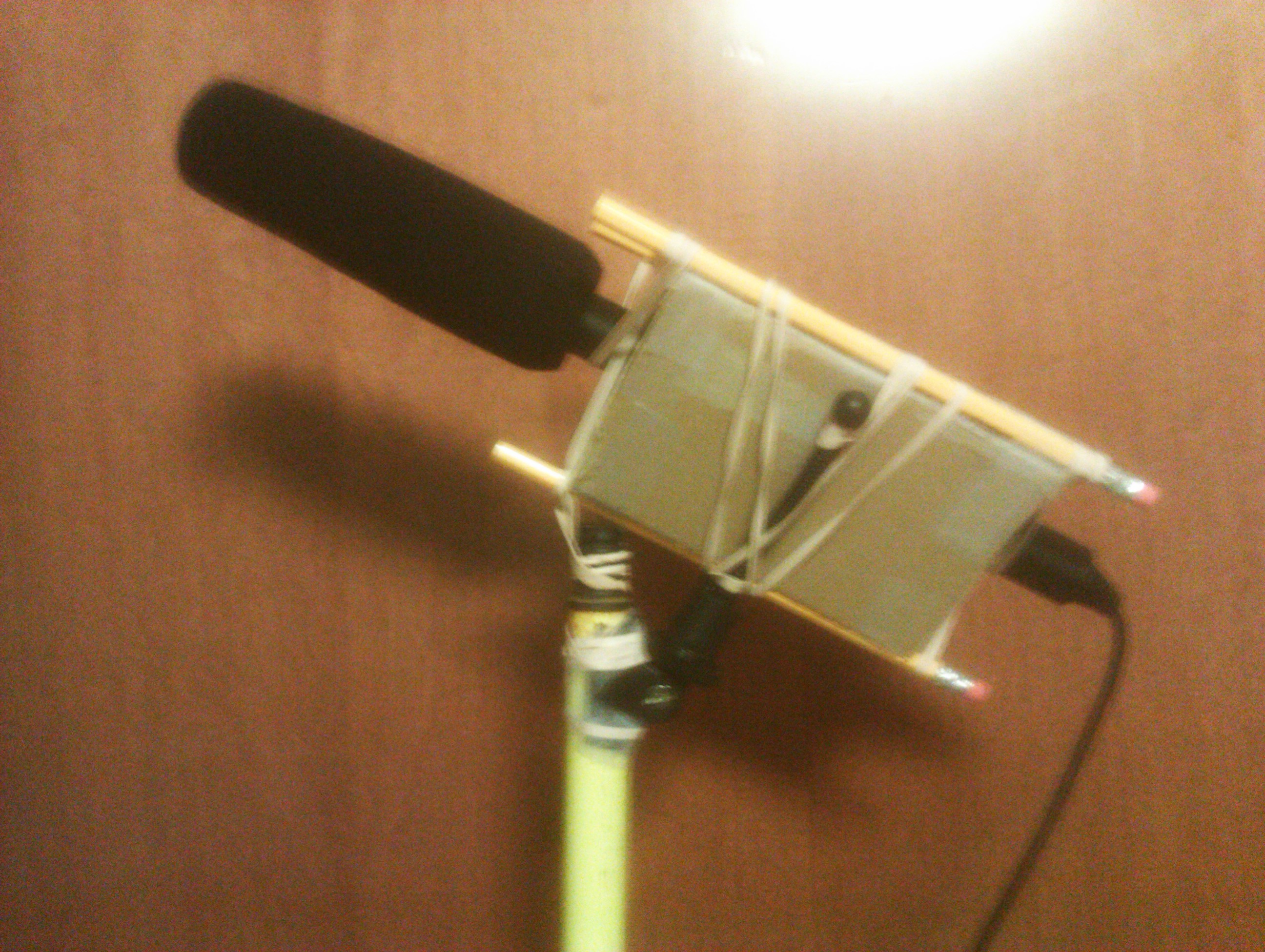 Boom Microphone and Shock-mount for free