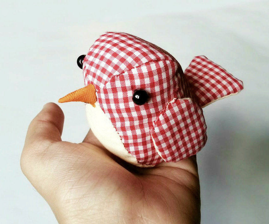 DIY Cute Plushie Bird
