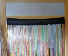 Drinking-straw Door Curtain