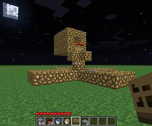 Minecraft Firework Contraption