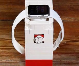 苹果手表乐高支架