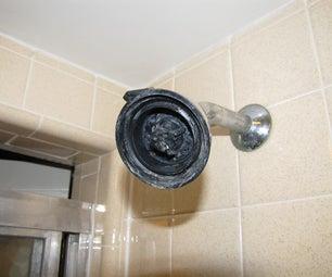 Easy Shower Head Decrustifying