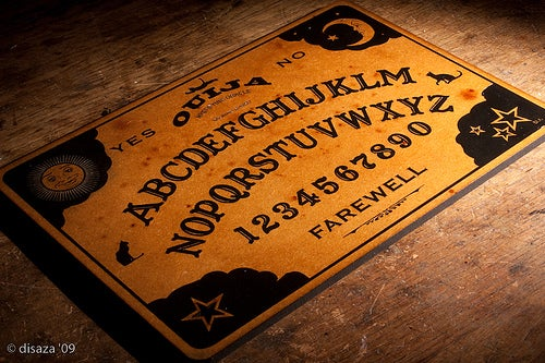 Laser Engraved - Hand Painted Custom OUIJA Board