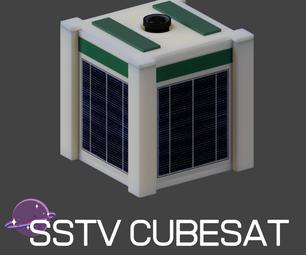 发射就绪SSTV CubeSat