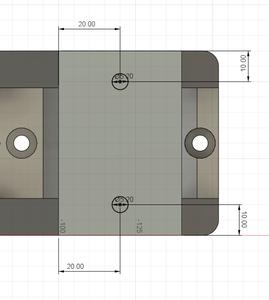 Design Process - Stepper Motor Mount - Reinforcement Screw Hole