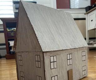 DIY 3D纸板屋