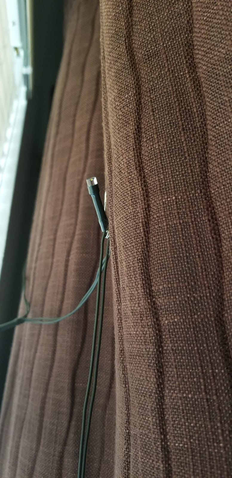 Hang the LED's in a Looping Pattern ~~~
