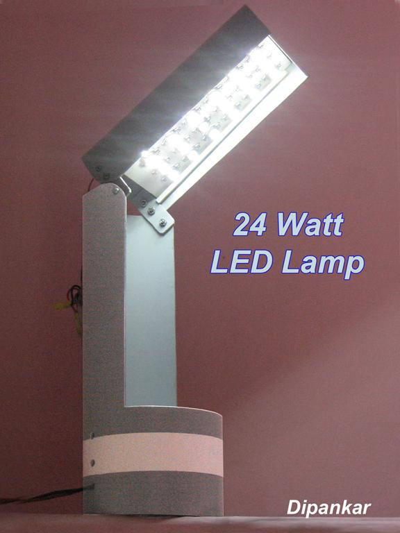 24 Watt LED Lamp.