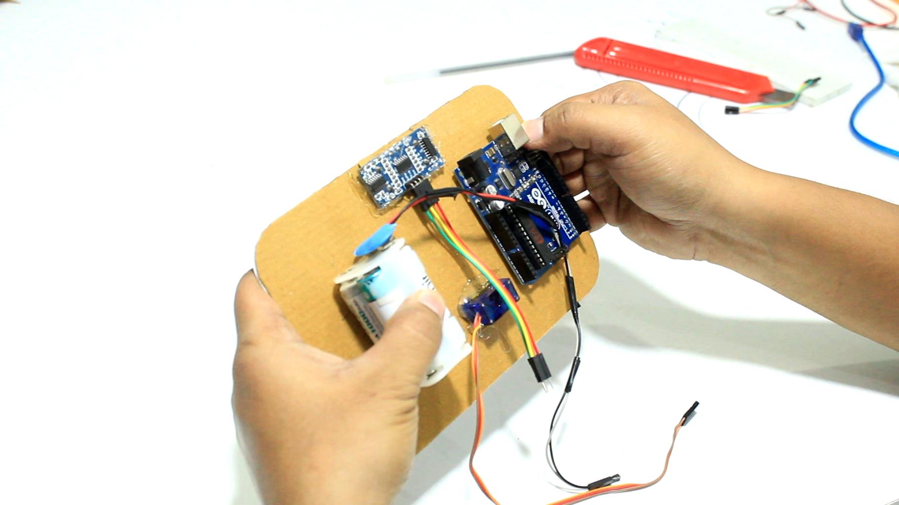 Connecting Arduino & Sensors